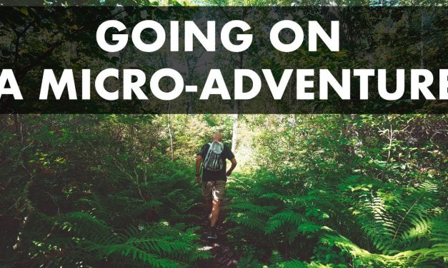 THE CASE FOR MICRO-ADVENTURES