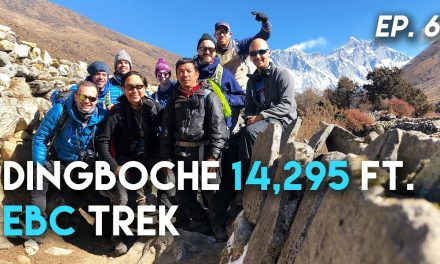 Himalayan Hiking From Deboche to Dingboche 14,295 ft, Everest Base Camp Trek Ep 6 / EBC Nepal Travel