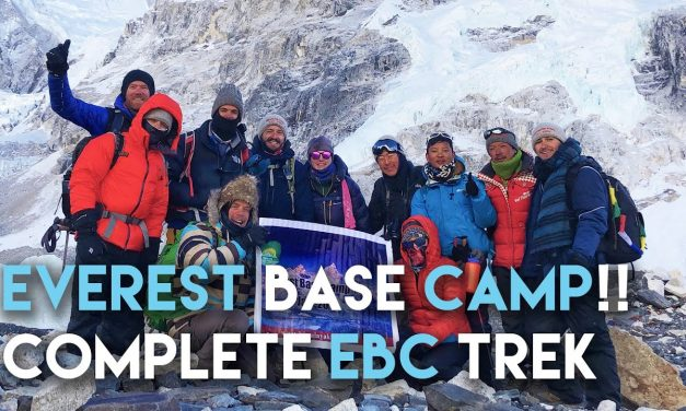 Everest Base Camp Complete EBC Hiking Trek // Kathmandu, Lukla, Namche, Kala Patthar, Deboche Nepal