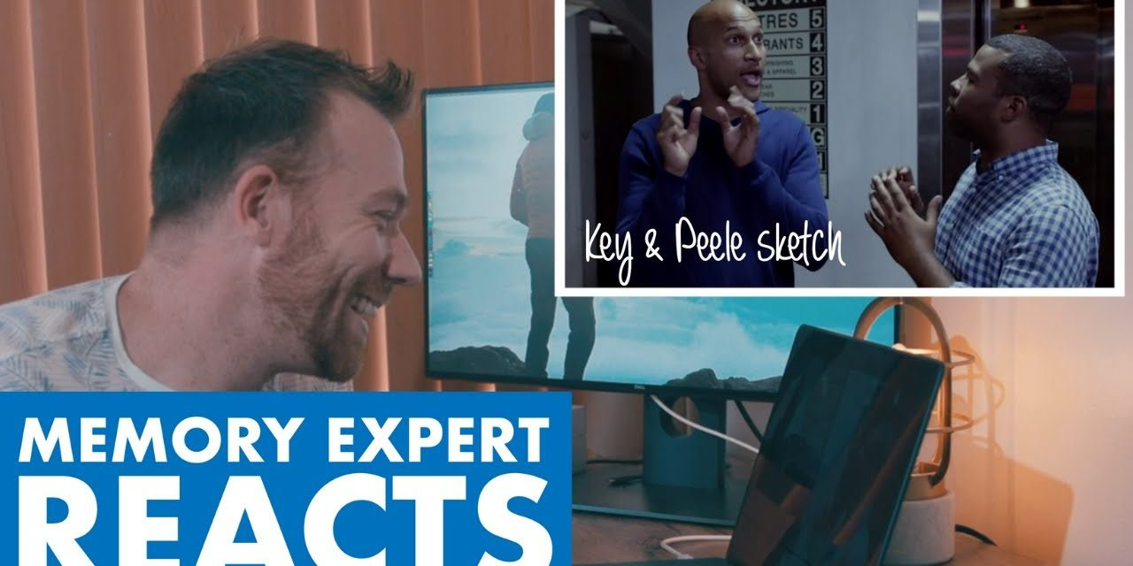 MEMORY EXPERT reacts to KEY AND PEELE MEMORY SKETCH