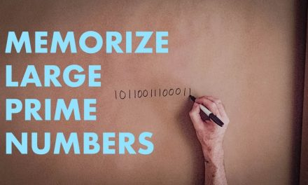 the LARGEST easiest-to-memorize PRIME NUMBERS