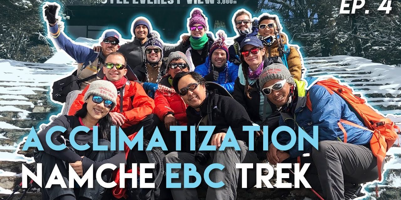 Namche Bazaar Acclimatization Hiking Day for at Everest View Hotel // EBC Trek Nepal Travel Ep 4