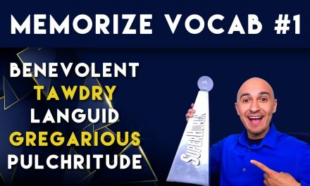 Memorize Vocabulary Words Ep. 1 // Smarter Brain, Better Memory Podcast | English SAT Vocab Training