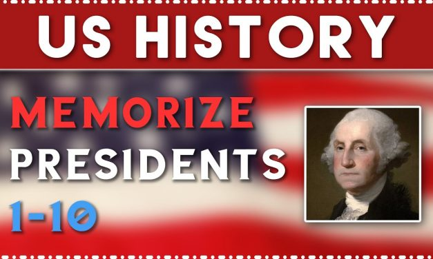 How to Memorize the Presidents 1-10 in Order // US History Memory Training // APUSH Review