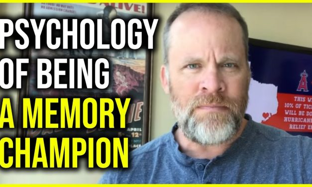Memory Champ Reveals Mindset to Become a Champion in Memory or Anything