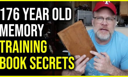 Forgotten 176 Year Old Memory Book Secrets to Remembering Numbers, History Facts & Data